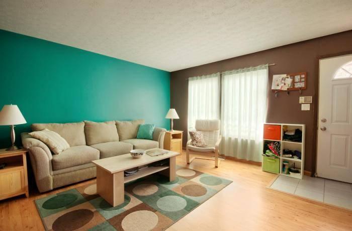 Качественно подобранные цвета для интерьера гостиной