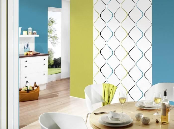 Применение различных цветов в интерьере кухни