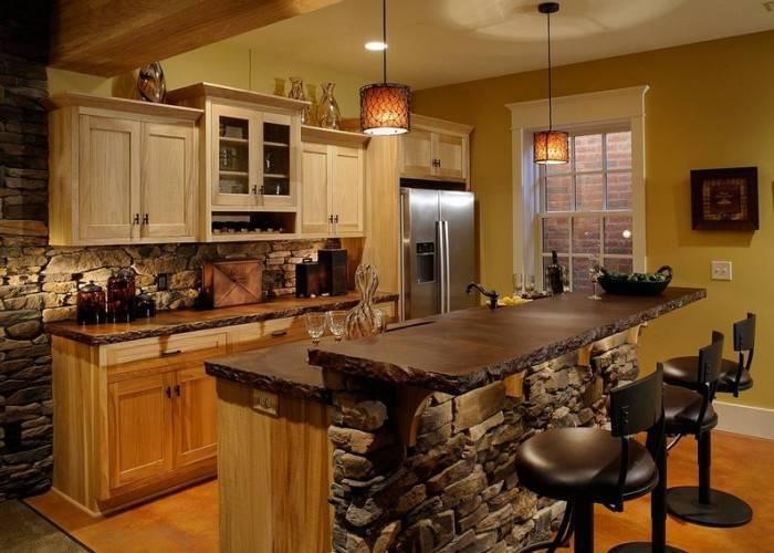 Великолепный интерьер кухни