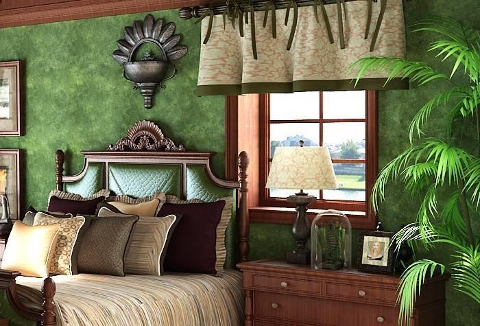 Уютная спальня с качественной отделкой