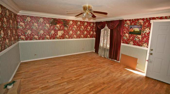 Окончание ремонта в гостиной