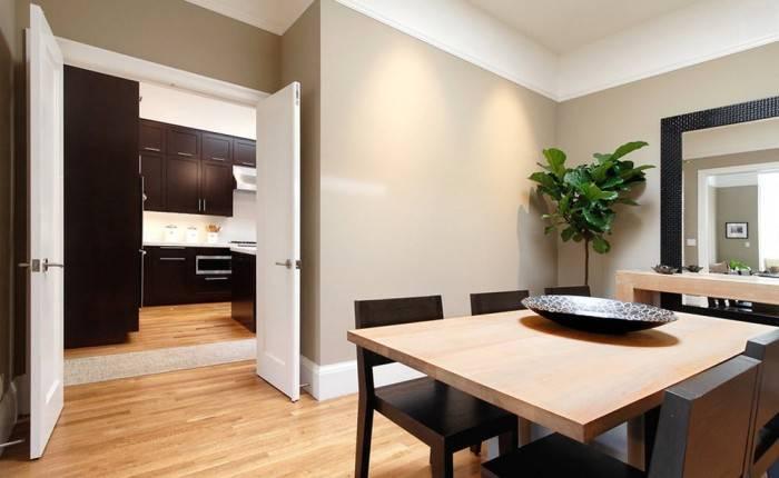 Использование стиля минимализм в гостиной