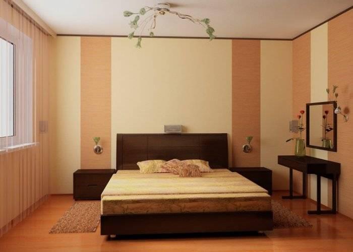 Удачно подобранные цвета для спальни