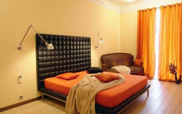 Современный стиль минимализм в спальне