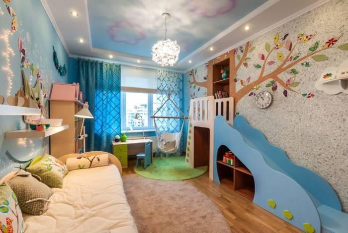 Детская комната продумана и воплощена в жизнь