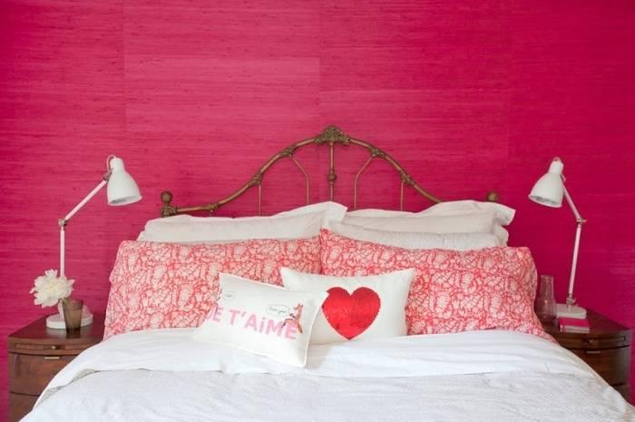 Бамбуковые обои обработанные краской и лаком