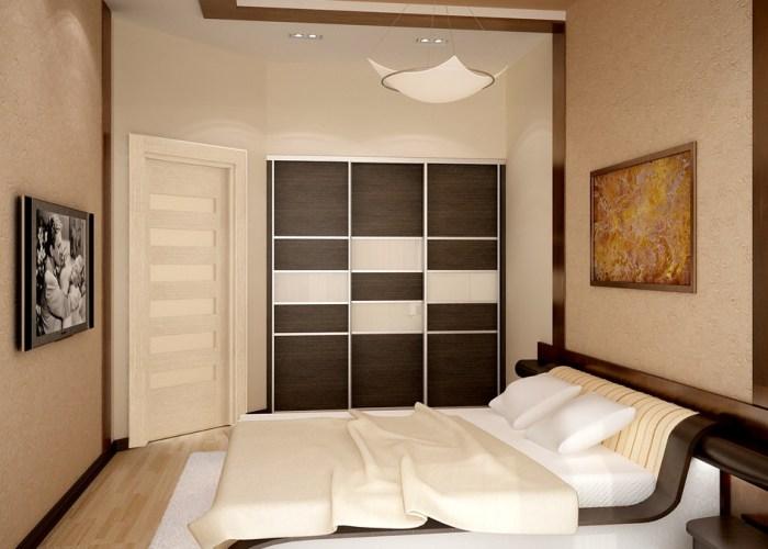 Использование теплой пастельной гаммы в спальне