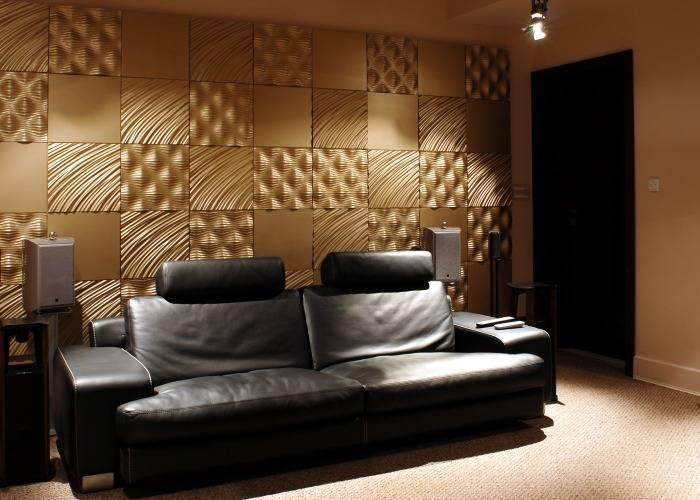 Золотая гостиная комната
