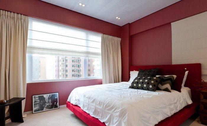 Спальня в обычной многоэтажке