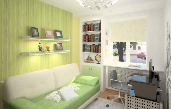 Небольшая комната в квартире