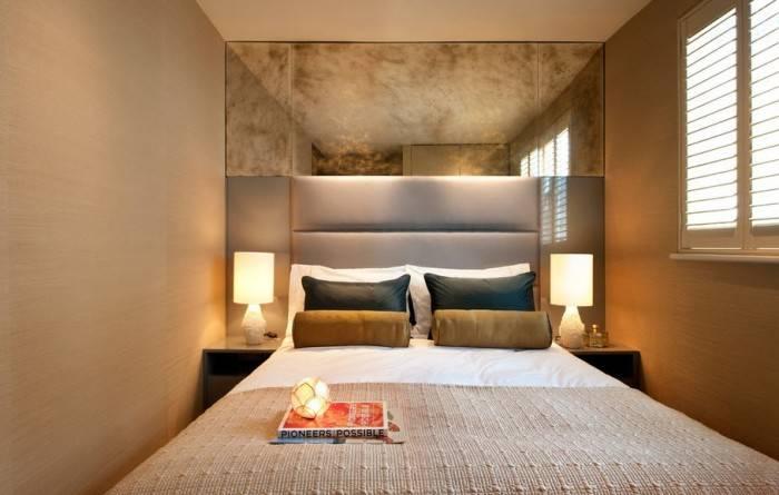 Комфортная спальня для ночлега