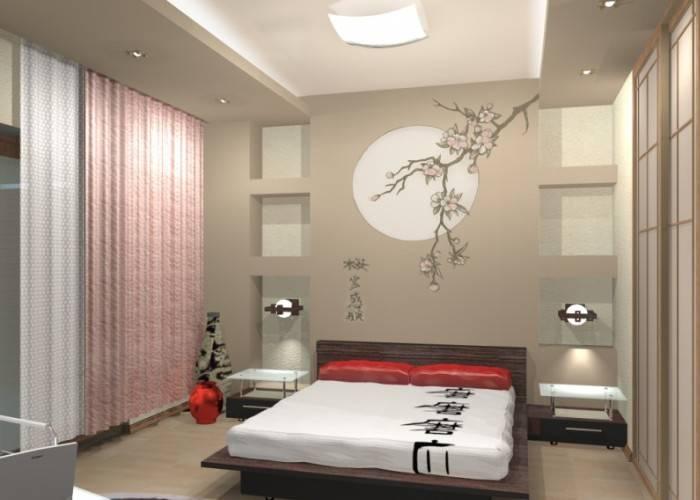 Небольшая, но удобная спальня