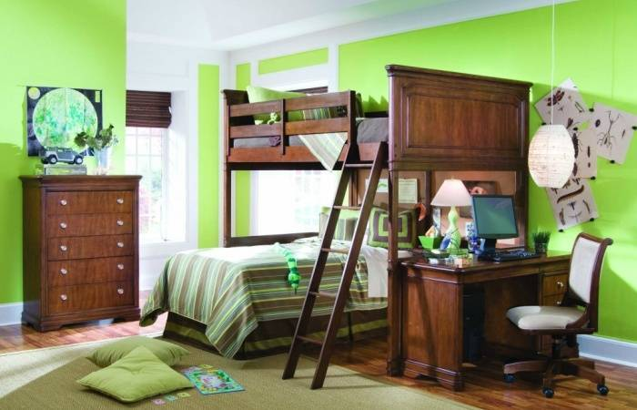 Приятный интерьер детской комнаты