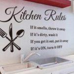 Правила кухни
