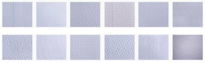 Разновидности текстуры стеклообоев