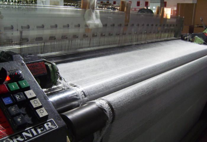 Современная линия производства обоев из стекловолокна