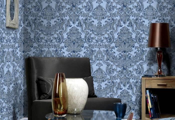 Интерьер домашнего кабинета в мягких цветах