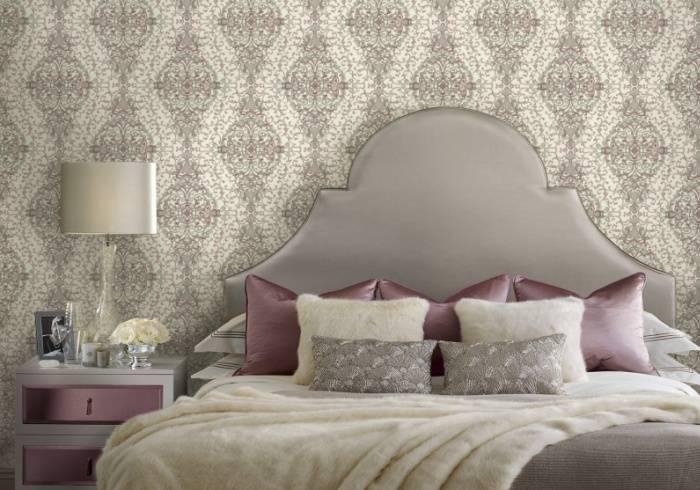 Приятный, мягкий интерьер спальни