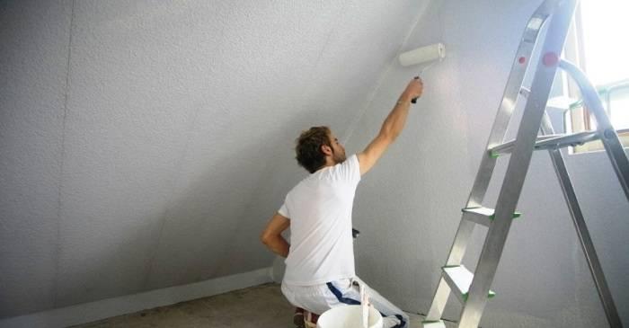 Подготовительные работы на стенах