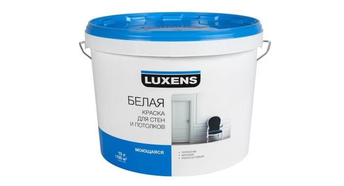Стандартная банка водно-дисперсионной краски