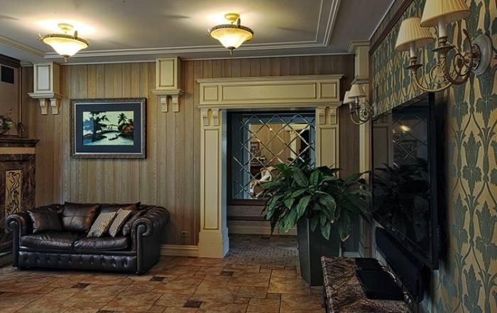Классический интерьер гостиной комнаты