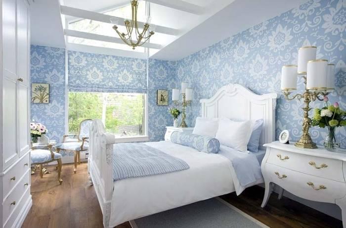 Свежая и просторная спальня