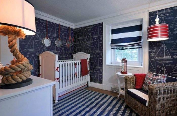 Контрастный дизайн комнаты