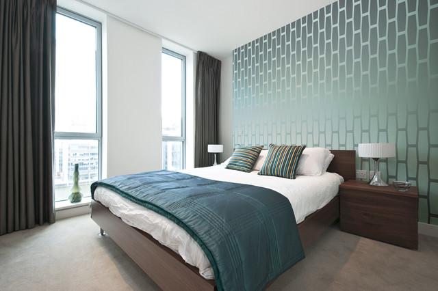 Модные обои  2021-2022 года для спальни (60+ фото)