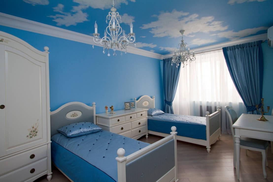 Какие лучше выбрать нейтральные обои в детскую комнату (70+ фото)