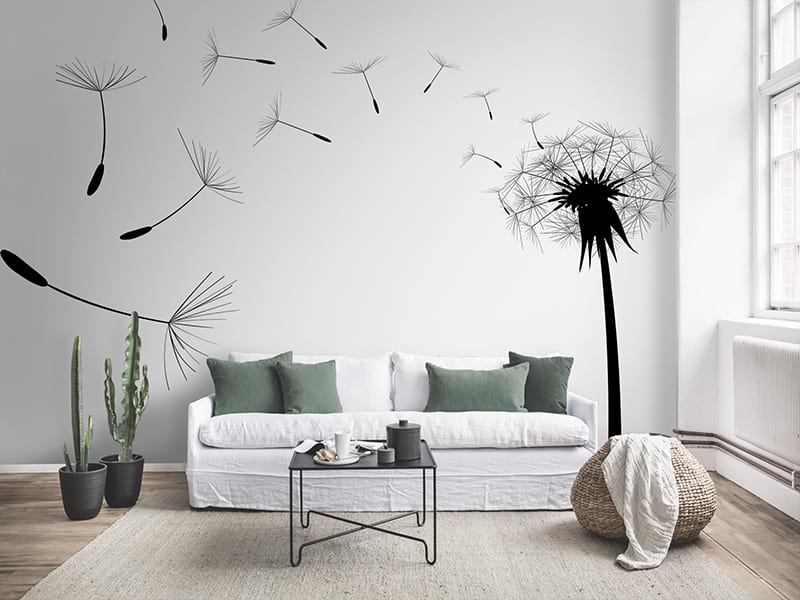 Фотообои в гостиную над диваном: лучшие идеи и дизайнерские решения (60+ фото)