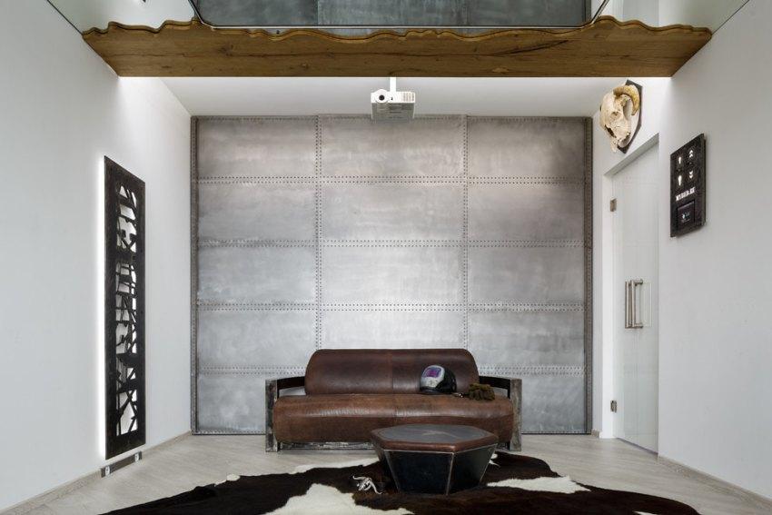 Обои в стиле лофт в интерьере разных комнат: цветовые решения и советы по дизайну (60+ фото)